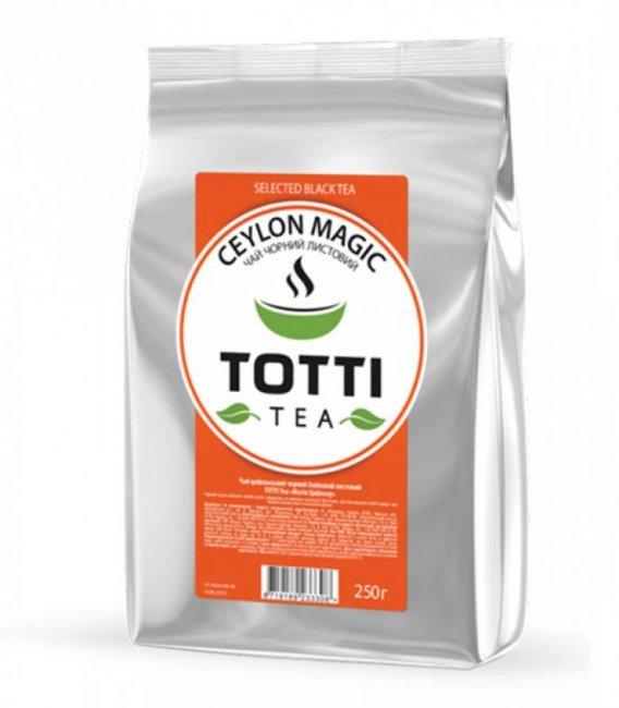 Чай черный рассыпной Магия Цейлона 250г ТОТТІ Tea