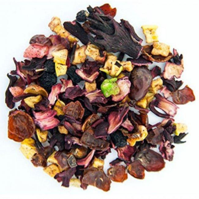 Чай фруктовый весовой  Десерт с Апельсином 1 кг. Nadin