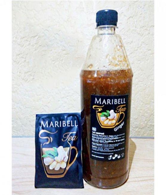 Чай концентрат Имбирный ПЭТ ТМ Maribell 1,25 кг.