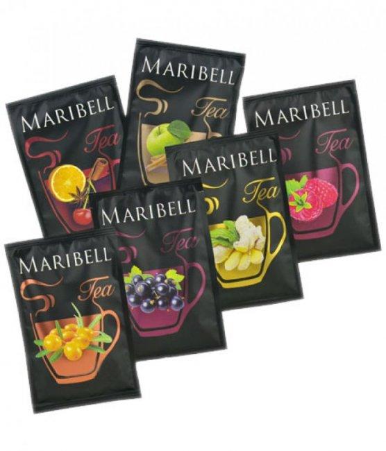 Чай концентрат Яблоко Корица ТМ Maribell 50гр.