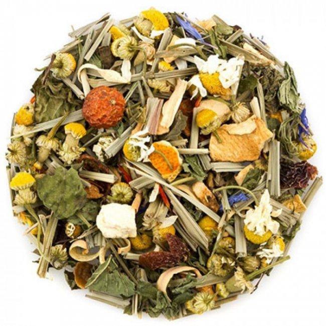 Чай травяной Альпийская свежесть весовой 1 кг. Nadin