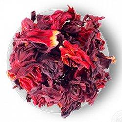 Чай цветочный весовой Каркаде 1 кг. Nadin