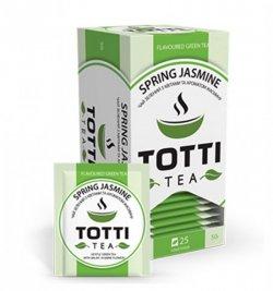 Чай зеленый пакетированный Весенний жасмин 2гр.* 25шт. ТОТТІ Tea