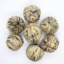 Чай зеленый весовой Серебряная Клубника 1 кг. Nadin