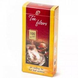 Фильтр пакет большой на заварник чая 1 пачка (100 шт)