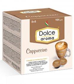 Кофе в капсулах Dolce Aroma Сappuccino 8 шт.*7 гр.