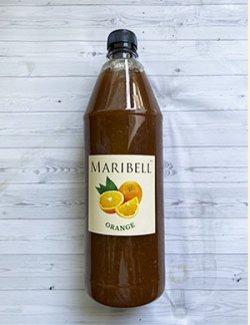 Лимонад концентрат Апельсин ТМ Maribell 1 л.