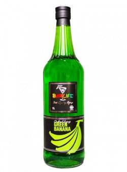 Сироп для коктейля Банан Зеленый ТМ Barlife 1 литр