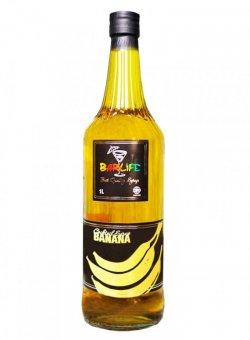 Сироп для коктейля Банан Желтый ТМ Barlife 1 литр