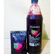 Чай концентрат Малиновый ПЭТ ТМ Maribell 1,25 кг.